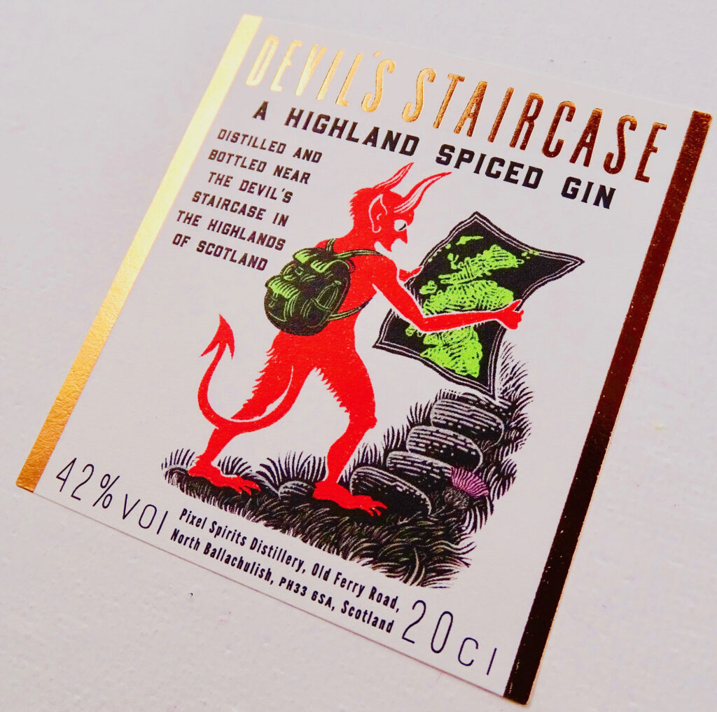 devils-staircase-gin-label