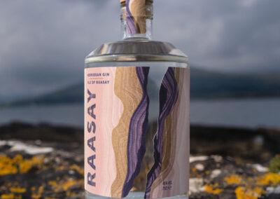 Raasay Gin Labels
